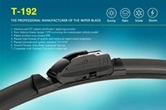 T-192 One-piece Multi-fit Flat Wiper Blade Aero Wiper Blades