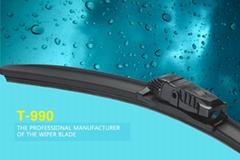 T-990 Multi-functional Flat Wiper Blade Professional 5 in 1 Hybrid Windshield Wi