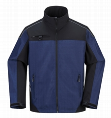 Soft Shell Waterproof Workwear with Reflective tapes