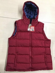Men's Winter Hooded Padded Vest