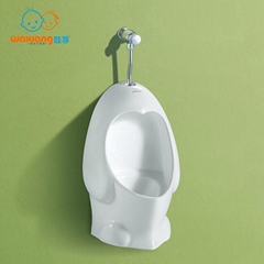 Chlid's Urinal White Likable Design Suitable For Children Penguin-Like Design