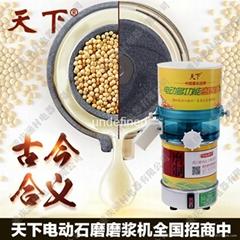 电动豆浆石磨机