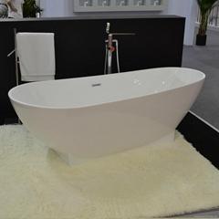 VOVSIMBLE Hot selling Idea standard wholesale square soaking white stone bathtub