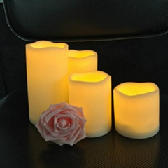 Remote 18 keys control led candles set