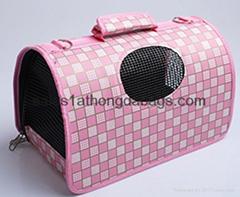 Custom Pet Carrier bag Cat Dog carrier bag