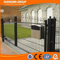 PVC Coated Welded Wire Mesh Arch Fence (Anping Shengxin)