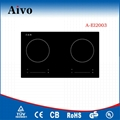Hot selling induction cooktop 220v with CE certificate 4