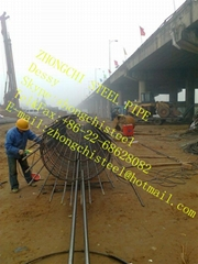 sonic pipe for bore pile