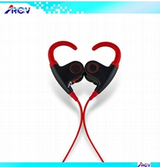 Funky Colorful Earhook Headphones for Smart Mobile Phone