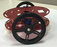 2轮原始智能DIY遥控机器小车套件