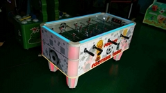 Luxury soccer table game machine hot sale coin operated soccer table game