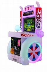 Kids parkour machine coin operated Kids Parkour Amusement Racing Game Machine
