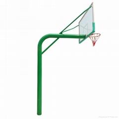 220圓管地埋式籃球架