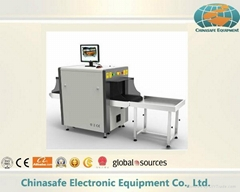 x ray baggage scanner for bags security checking