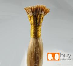 7A Brazilian Hair Silky Straight I- lip Hair Extension Stick Hair