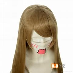Axis Powers Hetalia APH Natalia Arlovskaya Flaxen Long Straight Cosply Wig