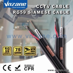 RG59 with power CCTV Cable