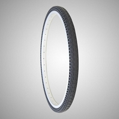 26*1.75 Inch Air Free Solid Colorful Tire for Bicycle