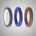 12 Inch Air Free Solid Colorful Tire for