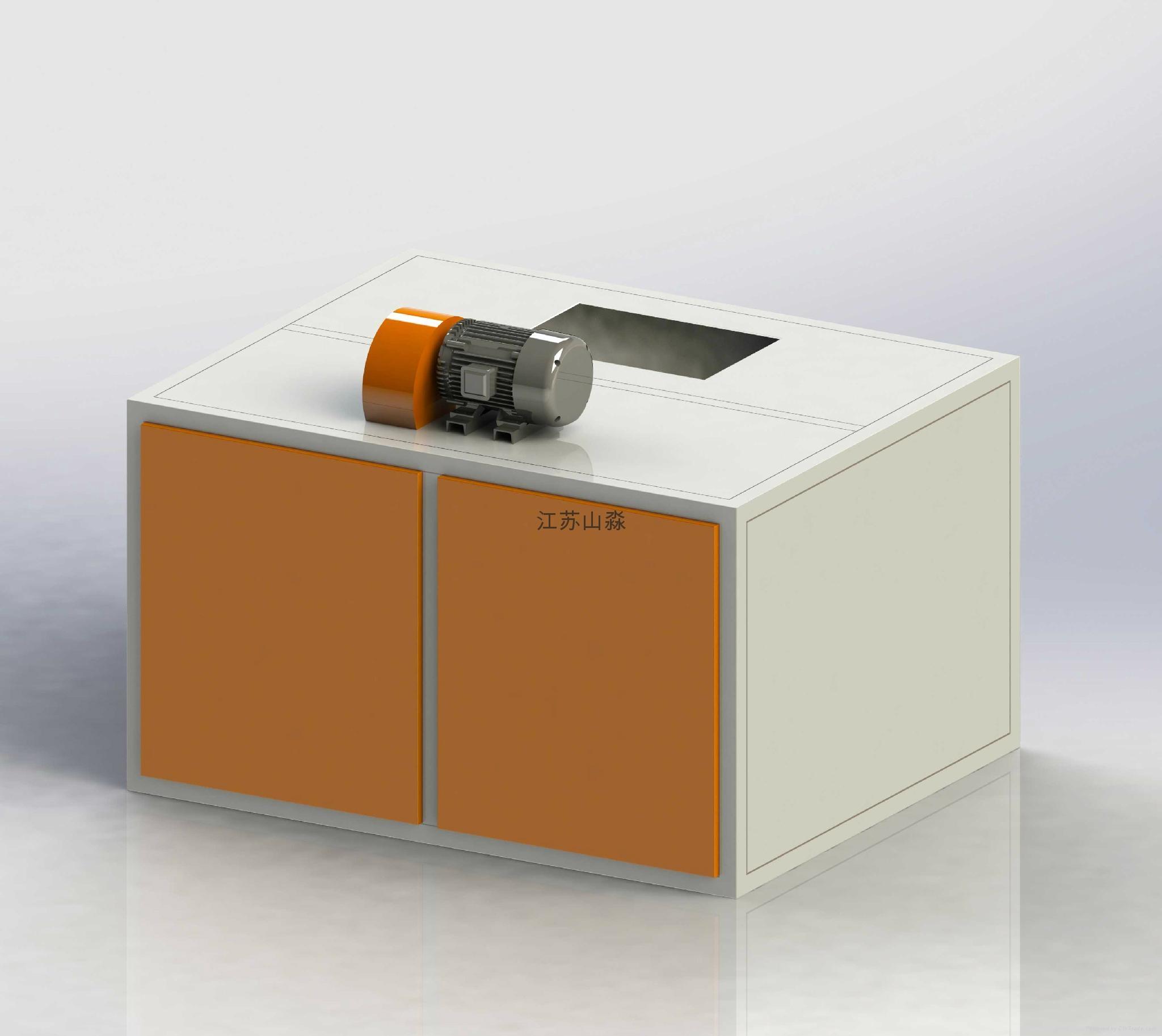 供應山淼SM-VPC 4S店汽車噴漆維修有機廢氣處理成套設備 1