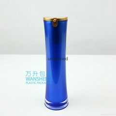Acrylic Airless Pump Serum Bottle 30ml 50ml