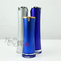 Acrylic Airless Pump Bottle Cosmetic