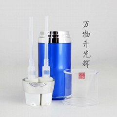 Acrylic Lotion Bottle With Dual Pump