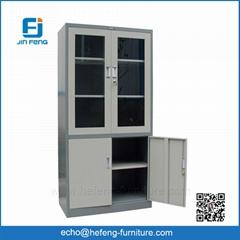 Filing Cabinet with Glass Door