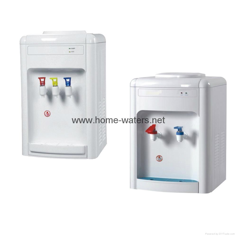 three taps countertop water dispensers cheap desk top water cooler - Countertop Water Dispenser