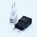 High quality Dual USB home charger EU/US