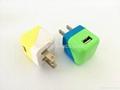 US Floding plug 5V 1A USB travel charger