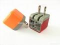 5V 1A folding plug micro USB wall