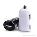 Mini single USB Micro USB car charger