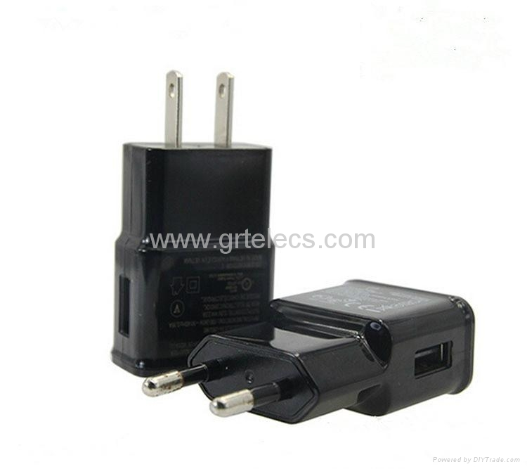 Hot selling 5V 1A AC USB travel adapter for Apple samsung 2