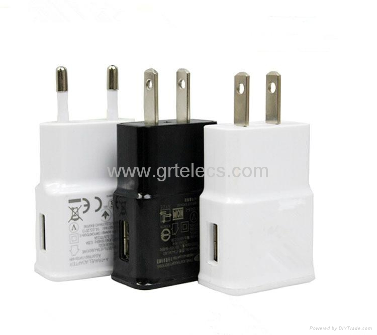 Hot selling 5V 1A AC USB travel adapter for Apple samsung 1