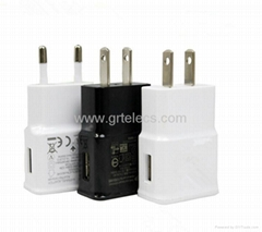 Hot selling 5V 1A AC USB travel adapter for Apple samsung