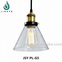 Vintage antique glass pendant light topdesign indoor pendant lamp