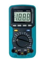 5 IN 1 AUTORANGING DIGITAL MULTIMETER