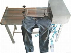 expand size machine for washing factory increase size machine  trouser add size