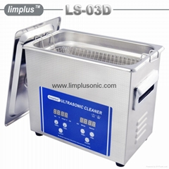 Small Ultrasonic Cleaner With Basket And LCD Screen