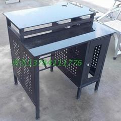 加厚鋼化玻璃網吧桌廠家批發