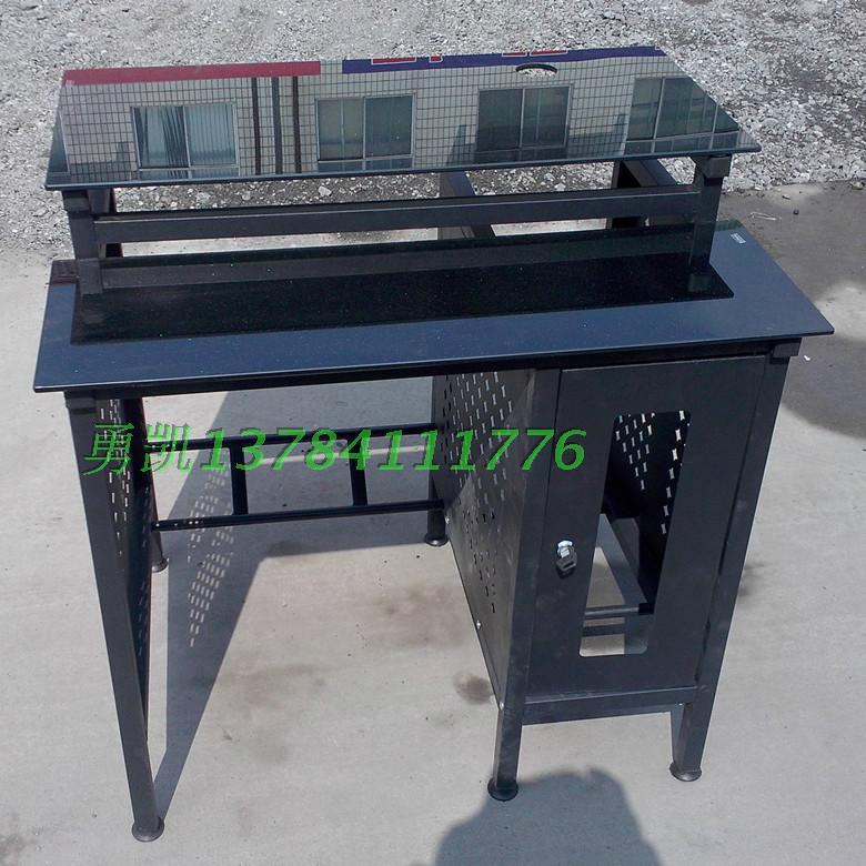 加厚鋼化玻璃網吧桌廠家批發 2