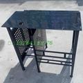 加厚鋼化玻璃網吧桌廠家批發 5