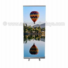 Economy Roll Up Banner Stand