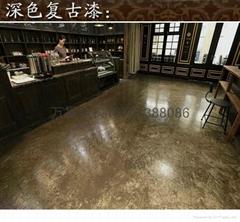 北京復古地面地坪施工