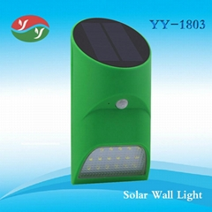 Newest Design 18 LED Solar Wall Light
