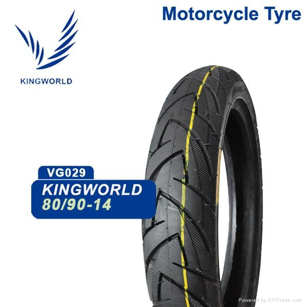 Chinese Wholesale 3.00-14 80/90-14 Motorcycle Tire Price 1