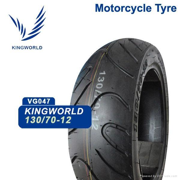 Shandong Tubeless Motorcycle Tire 90/90-12 130/70-12 Motorcycle Parts 1