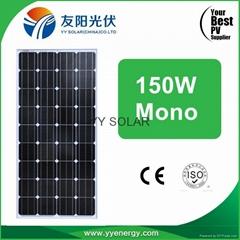 150W Solar Panel High Efficiency Best Price Mono Poly Solar Light 150 Watt 160W