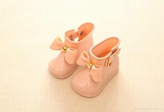 PVC jelly baby shoes